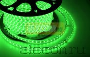 LED лента Neon-Night, герметичная в силиконовой оболочке, 220V, 13*8 мм, IP65, SMD 5050, 60 диодов/метр, цвет светодиодов зеленый, бухта 50 метров