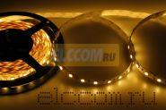 LED лента открытая, ширина 10 мм, IP23, SMD 5050, 60 диодов/метр, светоотдача 18 LM/1 LED, 12V, цвет светодиодов теплый белый LAMPER