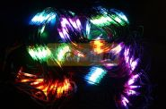 Гирлянда - сеть Чейзинг LED 2*4м (560 диодов), КАУЧУК, МУЛЬТИ
