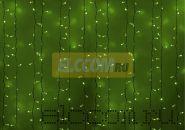 """Гирлянда """"Светодиодный Дождь"""" 2х1,5м, постоянное свечение, белый провод, 220В, диоды ЗЕЛЁНЫЕ, NEON-NIGHT"""