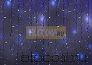 """Гирлянда """"Светодиодный Дождь"""" 2х1,5м, эффект мерцания, белый провод, 220В, диоды СИНИЕ, NEON-NIGHT"""