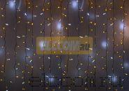 """Гирлянда """"Светодиодный Дождь"""" 2х1,5м, эффект мерцания,белый провод, 220В, диоды ЖЁЛТЫЕ, NEON-NIGHT"""