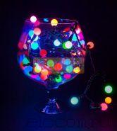 """Гирлянда """"LED - шарики"""", Мультиколор, Ø17,5 мм, 20 м, Neon-Night"""