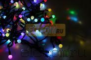 "Гирлянда ""LED - шарики"", RGB, Ø17,5 мм, 10 м, Neon-Night"