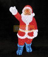 """Акриловая светодиодная фигура """"Санта Клаус"""" 120см, IP 44, понижающий трансформатор в комплекте, NEON-NIGHT"""