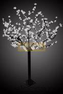 """Светодиодное дерево """"Сакура"""", высота 1,5 м, диаметр кроны 1,3м, белые светодиоды, IP 44, понижающий трансформатор в комплекте, NEON-NIGHT"""