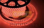 LED лента Neon-Night, герметичная в силиконовой оболочке, 220V, 13*8 мм, IP65, SMD 5050, 60 диодов/метр, цвет светодиодов красный, бухта 50 метров