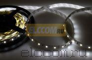 LED лента открытая, ширина 10 мм, IP23, SMD 3528, 60 диодов/метр, светоотдача 6 LM/1 LED, 12V, цвет светодиодов белый LAMPER