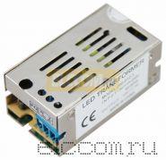 Источник питания 220V AC/12V DC, 1A, 12W с разъёмами под винт, без влагозащиты (IP23)