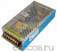 Источник питания 220V AC/12V DC, 12,5A, 150W с разъёмами под винт, без влагозащиты (IP23)