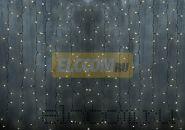 """Гирлянда """"Светодиодный Дождь"""" 2х3м, постоянное свечение, прозрачный провод, 220В, диоды МУЛЬТИ NEON-NIGHT"""