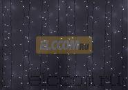 """Гирлянда """"Светодиодный Дождь"""" 2х4м, эффект мерцания, белый провод, 220В, диоды БЕЛЫЕ, NEON-NIGHT"""