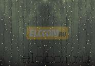 """Гирлянда """"Светодиодный Дождь"""" 2х9м, постоянное свечение, прозрачный провод, 220В, диоды ТЕПЛО-БЕЛЫЕ, NEON-NIGHT"""