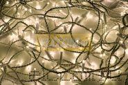 """Гирлянда """"Дюраплей LED"""" 20м 200 LED белый провод, тепло-белая NEON-NIGHT"""