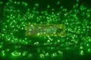 """Гирлянда """"Мишура LED"""" 3 м 288 диодов, цвет зеленый"""