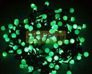 """Гирлянда """"LED - шарики"""", Ø17,5мм, 20 м, цвет свечения зеленый, 220В, Neon-Night"""